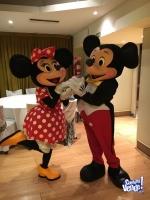 Personajes de Mickey & Minnie igual a los originales
