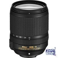 Estandar Zoom AF-S Nikkor 18-140mm f/3.5-5.6G ED VR DX