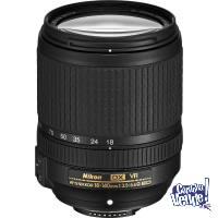Estandar Zoom AF-S Nikkor 18-140mm f/3.5-5.6G ED VR DX
