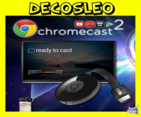 Google Chromecast 2 Smart Tv Usb NETFLIX YOUTUBE WIFI ORIGIN