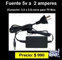 fuente 5v a 2 amperes ideal tv box