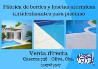 LOSETAS ATERMICAS SOLARIUM 50 X 50 CM PARA PILETAS