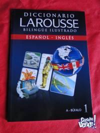 DICCIONARIO LAROUSSE ILUSTRADO   BILINGÜE ILUSTRADO TOMO 1