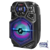 Parlante Portátil Inalámbrico BT con Karaoke Noga NG-BT800