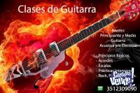 Clases de Guitarra Electrica / Acústica Nivel Prtin