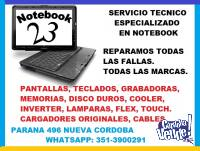 REPARACION  PLACAS MADRES DE NOTEBOOK