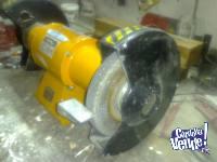 Amoladora de banco 1 hp monofasica