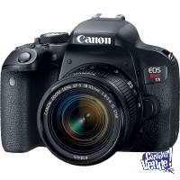 Canon T7i + Lente 18-55mm IS STM + SD 16 GB