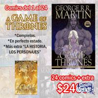 Game of Thrones comic + Extra