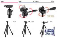 Trípode Velbon M45 Uso Mixto Fotografía/Video (155 cms)