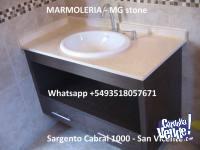 MARMOLERIA MESADAS PARA BA�OS $2200mt