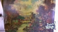 6 LAMINAS ANTIGUAS DE PAISAJES  50 x 69 cm color $ 300 c/u