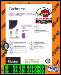 MASTER CROCK SUPER PREMIUM - PERROS CACHORROS MEDIUM & LARGE