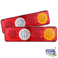 Luces LED traseras P/remolque cami�n 36LED -12V � 24V