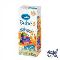 Sancor 3 Bebé x 200ml. - Pack x 30uds.