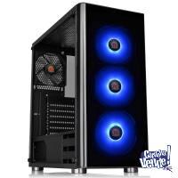 Gabinete Thermaltake V200 TG RGB c/Fuente Smart 600W 80 Plus