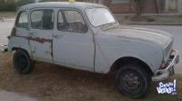 Renault 4L mod 1969, con motor 850 cc