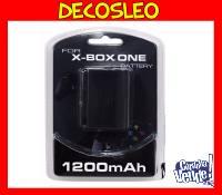bateria recargable para joystick de xbox ONE+ cable 1200 MHZ