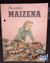 Recetario Vintage Maizena