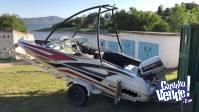 Lancha AIRU 510 Johnson 90 Exc. Relacion casco/motor/consum