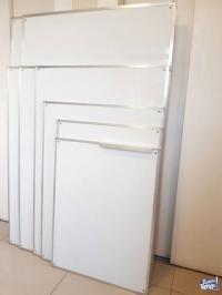PIZARRAS BLANCAS 90x150cm – Marco de Aluminio (Nueva Cba.)