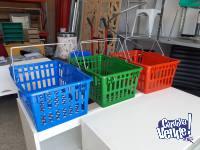 Canasto Plásticos  Para Compras En Supermercado