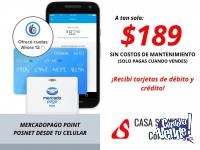 Mercado Pago Point Bluetooth - Lector De Tarjetas Mpos
