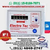 elevador automático de tensión 16 kva 16000 Watts Rg: 140v