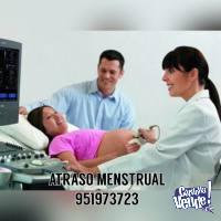 Atraso Menstrual 951973723 LAMBAYEQUE Limpieza Directa