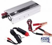 INVERSOR CONVERSOR 500W 12V 220V - 1500W PICO MAX C/USB