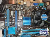MOTHERBOARD ASUS P5G41T-M LX3 intel e5800 dual core 2gb ddr3