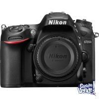 Nikon D7200 Cuerpo + SD 16 GB