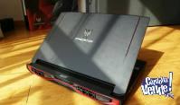 Acer Predator 17 G9-793, 16Gb ram, i7-7700HQ, 17'3, 256Gb SS