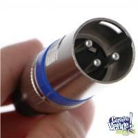 Conector Xlr Canon Dmx Macho y Hembra A Cable 3 Pines