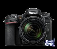 NIKON D7500 KIT 18-140MM VR 21MPX VIDEO 4K BT LOCAL A CALLE!