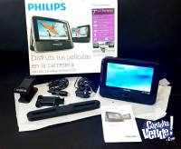 "REPRODUCTOR DE DVD PORTÁTIL PHILIPS - PD7013 (LCD 7"")"