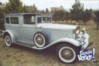 ALQUILER DE AUTOS ANTIGUOS Y LIMOUSINA ANTIGUA DODGE 1930