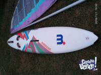 Equipo completo de Windsurf Tabla Mistral Made in GERMANY