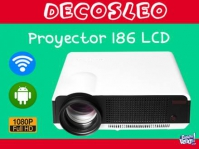 Proyector Led L 86+ Wifi Smart Tv Box Netflix 120'' 2800lm F