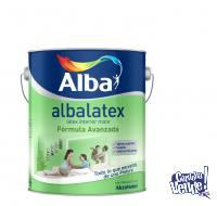 Pintuta Latex Interior Albalatex Mate Blanco 20lts