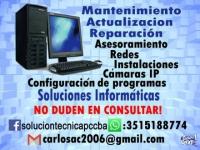 Reparación, Mantenimiento y Actualización de PC