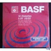 disquettes Nashua y Basf 5 1/4 nuevos x 10 u