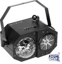 Mad Box Caja Loca 3 En 1 Led Laser Flash Venetian Dm075