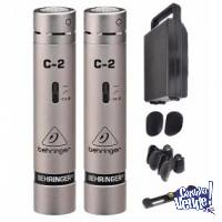 Behringer C2 - Condensers - Aéreos $5.750