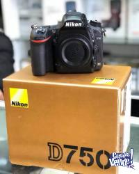 Camara Nikon D750 24.3 MP, Cuerpo Accesories Digital SLR