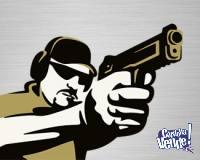Instrucción de tiro con Instructor matriculado ANMaC ITA