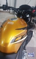 Honda Twister 250, okm, línea nueva Amarilla