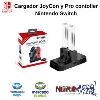 CARGADOR de JOYCON y PRO CONTROLLER NINTENDO SWITCH