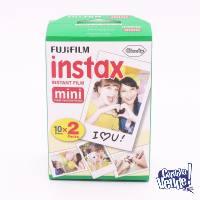 20 Fotos.2 Rollos Fujifilm Instax Mini Polaroid Instant