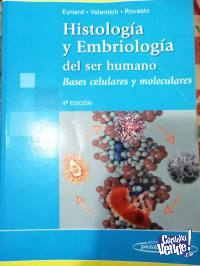 Histologia y embriologia del ser humano. Eynard. 4º edicion
